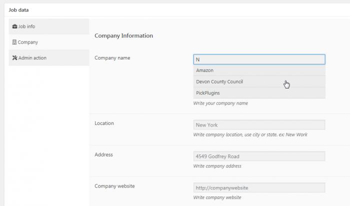 Job Board Manager - Company Profile 1