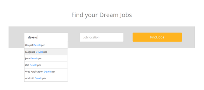 Job Board Manager - Search 3