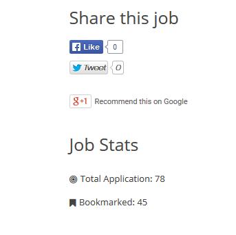 Job Board Manager - Stats 1