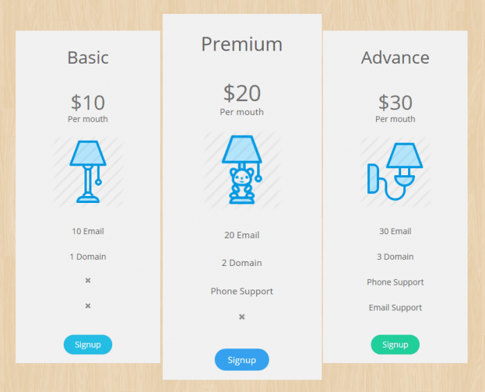 pricing table plugin wordpress