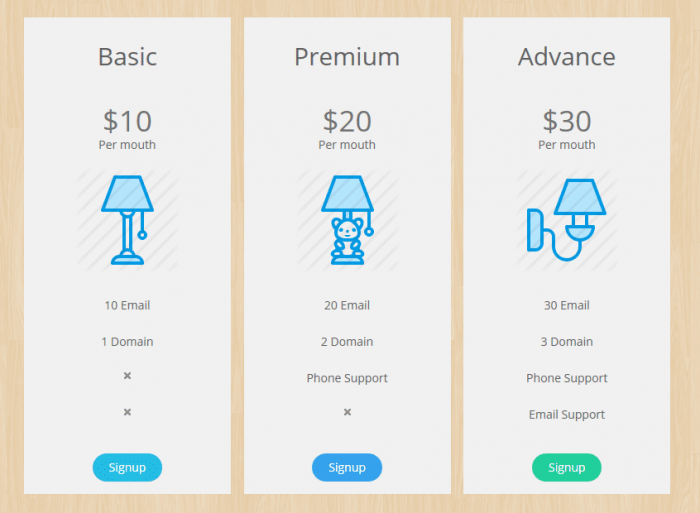 Pricing Table Plugins for WordPress
