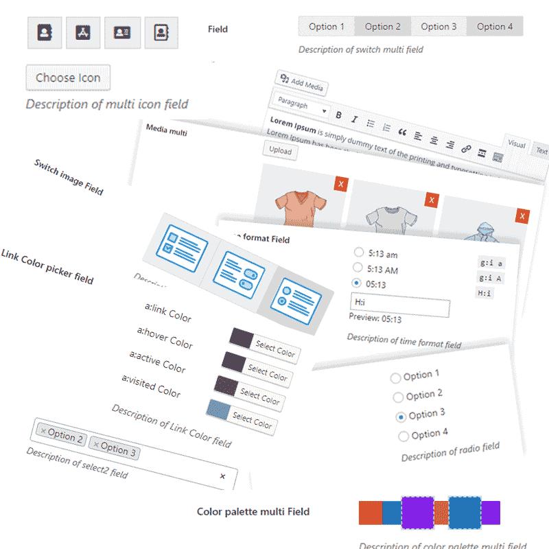 WordPress Option Framework