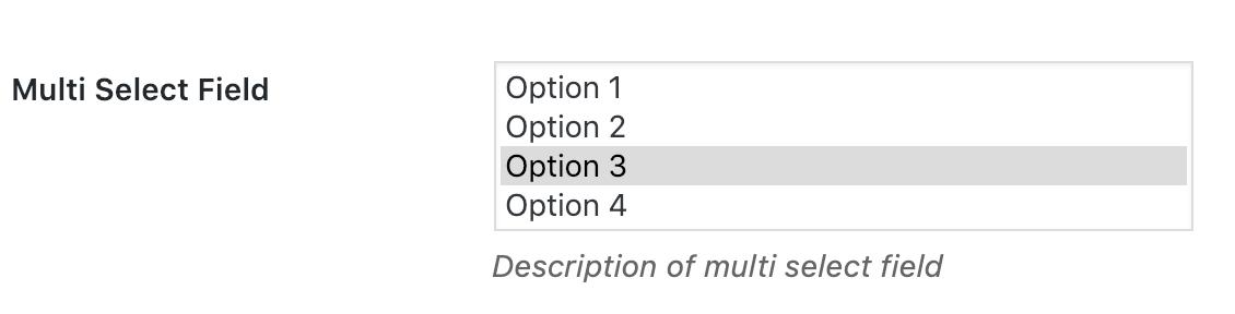 Option Framework
